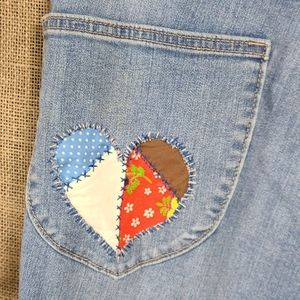 High Waisted Refashioned Pants